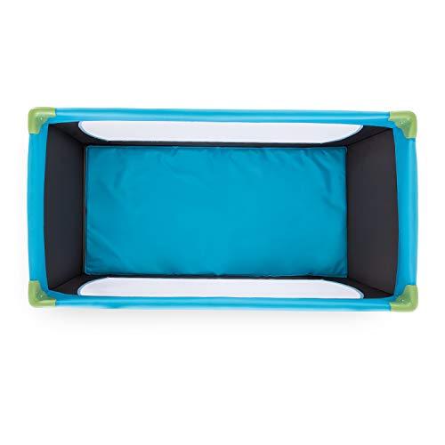 Hauck Kinderreisebett Dream N Play / inklusive Einlageboden und Tasche / 120 x 60cm / ab Geburt / tragbar und faltbar, Wasser (Blau) - 13