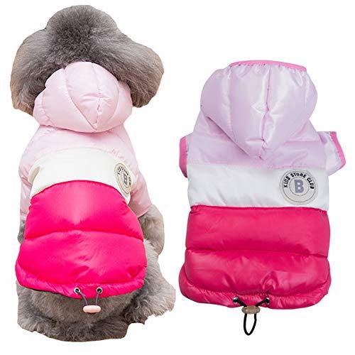 DOGGYZSTYLEWinter Dog Hoodie Coat Waterproof Down Jacket Puppy Cat Windproof Cold Weather Coat Pet Clothes