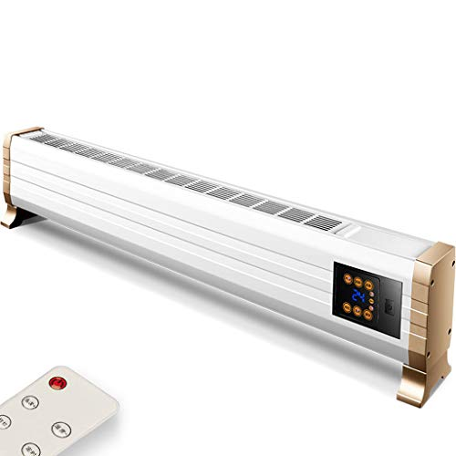 Aidasone Convector-ventilatorkachel met thermostaat en timer, elektrische verwarming, low energy, voor thuis en in de badkamer, draagbare verwarmingsmodus (1200/2000W), mobiele verwarming, energiebesparend, stil, snelle verwarming