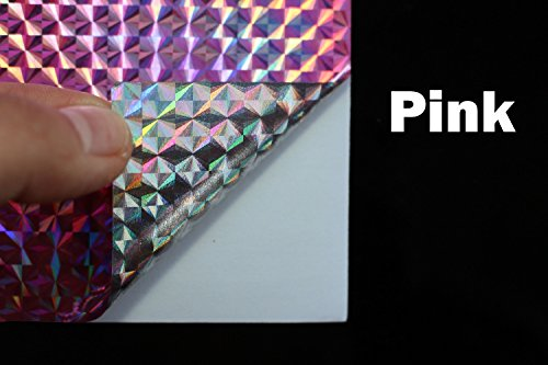 Tigofly 6 piezas 3 colores 10 x 21 cm holográfica láser láser...