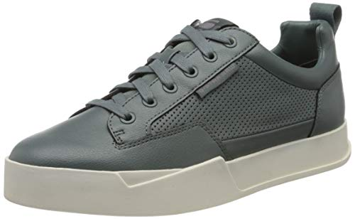 G-STAR RAW Herren Rackam Core Low Sneaker, Grau (Grey Moss A940-4752), 46 EU