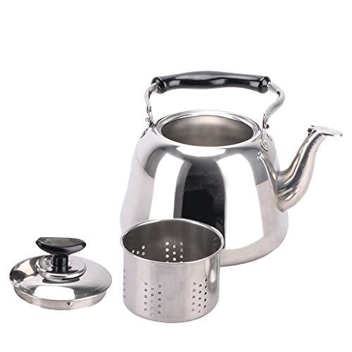 F Fityle 1L, 2L, 3L Wasserkessel Flötenkessel Pfeifkessel für Kaffee, Milch und Tee - 1L
