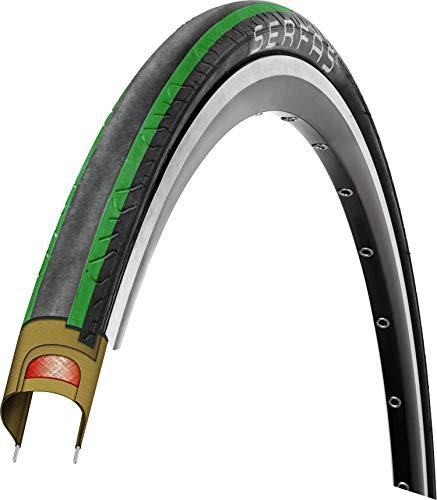 SERFAS(サーファス) 自転車用 タイヤ セカ DDロードタイヤ 700X28C グリーン 728640