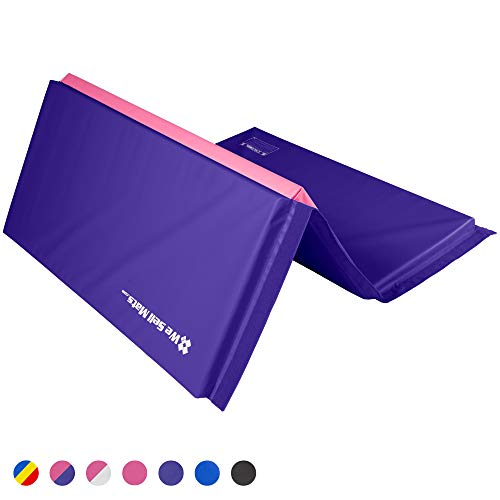 We Sell Mats Gymnastics Tumbling Exercise Folding Martial Arts Mats with Hook & Loop Fasteners