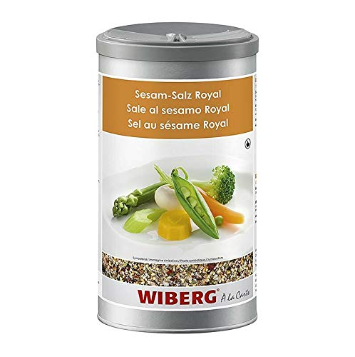 Wiberg - Sesam Royal, mit Meersalz und Nori Alge, 600g, Aromatresor