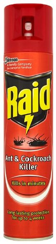Raid Ant & Cockroach Killer 300ml, Pack of 6