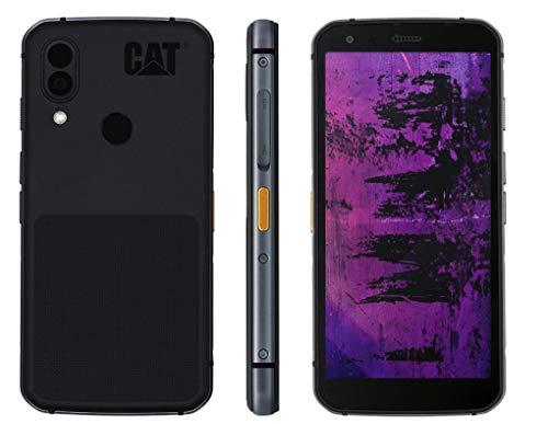CAT S62 Pro Robustes Outdoor Smartphone mit FLIR Wärmebildkamera (5.7 Zoll FHD+ Display, 128 GB Speicher, 6 GB RAM, Dual-SIM, IP68, 4G, Android 10) schwarz