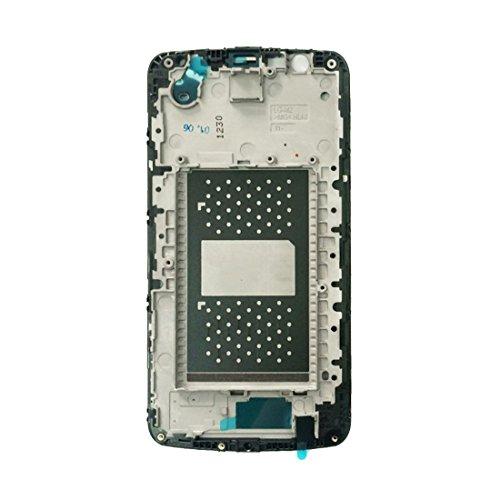 Tangyongjiao For LG K10 / F670 / F670L / F670S / F670K Reemplazo de Bisel Frontal (Color : Black)