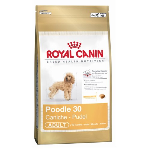 Royal Canin Dog Food Poodle 30 1.5kg