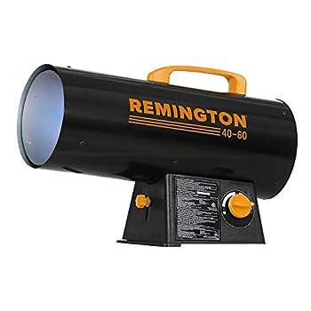 Remington REM-60V-GFA-O Variable BTU for Heating up to 1500 Square feet 60,000 Black