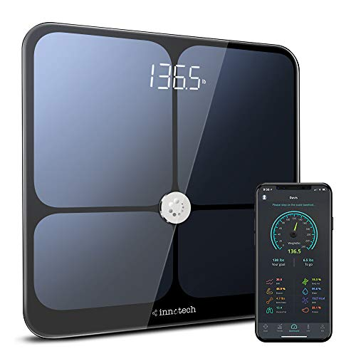 Innotech Smart Bluetooth Body Fat Scale Digital Bathroom Weight...
