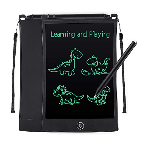 Tesoky Learning Toys for 3-10 Year Old Kids Boys, LCD Writing Tablets for Kids 8.5 inch Drawing Doodle Educational Toys for 3-8 Year Old Boys Kids Birthday Gifts for 3-8 Year Old Kids Boys Black