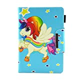 Universal Case for 9-10.5' Tablet, Protective Cover for iPad 2018 9.7', Lenovo Tab 4 10/TB-X103F, Asus ZenPad 10/3S 10, Huawei MediaPad T3 T5 10/ M5 Lite 10, Samsung Galaxy Tab A 10.1', Unicorn