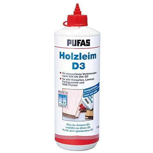 Pufas Holzleim D 3 1,000 KG