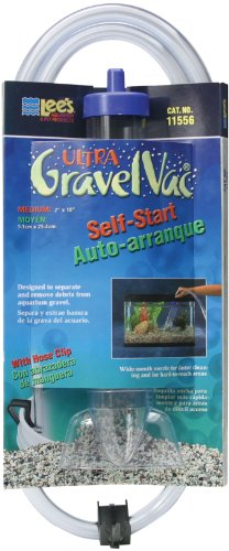 Lee's Ultra GravelVac, Self-Start with Nozzle & Hose Clip - 10