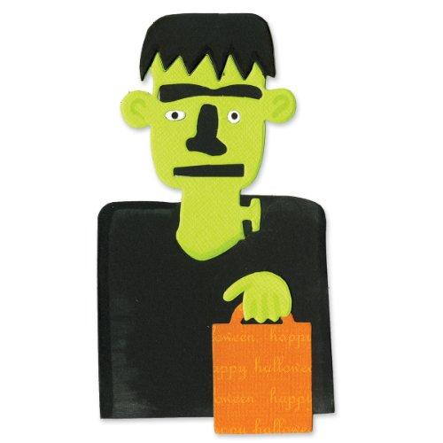 Sizzix Bigz Stanzschablone–Frankenstein mit Leckerli Futter Tasche von Brenda Pinnick
