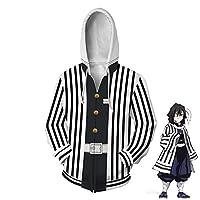 メンズアニメとコミックコスチューム、3D印刷フード付きスウェット秋冬長袖パーカーコートジャケット 11-XL