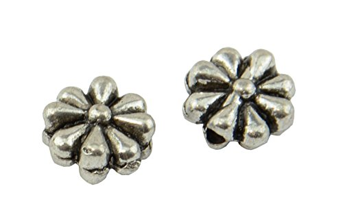 20 stuks grote platte bloempotten spacer kralen (59004-216)