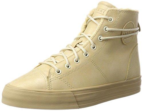 ESPRIT Damen Simona Bootie Hohe Sneaker, Braun (Camel), 40 EU