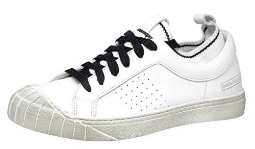 Momino 3807N Unisex - Kinder Sneaker, Weiß (Emma Bianco), EU 38