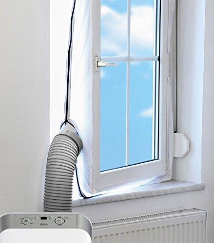 Mingran AirLock Abluft Fensterabdichtung für mobile Klimageräte Hot Air Stop (Abluft Fenster Abdichtungen)
