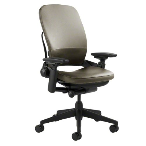 Steelcase Leap Chair, Soapstone Leather