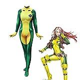 ZXRYF Costume X-Men Pour Femmes Costume Anime Cosplay Collants Vêtements Noël Halloween Déguisements Adulte/Enfant Porter Adulte-XXL, Convient Pour Les Occasions Spéciales, Carnaval,Vert,S