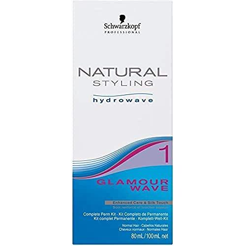 Schwarzkopf Natural Styling Classic Glamour 1 Kit Lotion Permanent 80 ml