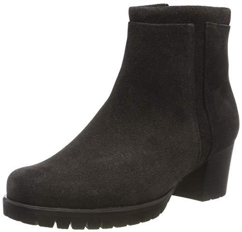 Gabor Damen Comfort Basic Stiefeletten, Grau (Dark-Grey (Micro) 69), 38 EU
