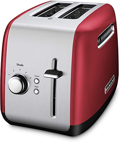 KitchenAid KMT2115ER Toaster with Manual High-Lift Lever, Empire Red CERTIFIED REFURBISHED (RENEWED)