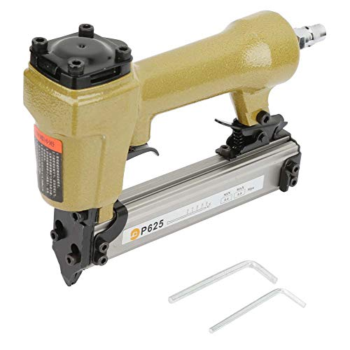 P625 Air Nailer, Pneumatic Gun Air Pin für Grain Nail 100er Air Hefter Länge 10-25mm