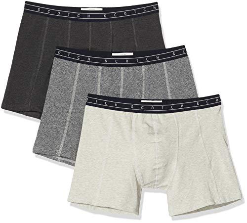 Scotch & Soda Herren Nos Underwear 3 Pack Boxershorts, Mehrfarbig (Combo O 0594), (Herstellergröße:XL) (3er Pack)