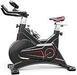 Bicicleta estática Ciclismo en interiores, manillares ajustables Resistencia del asiento, Control de aplicación inteligente Bicicleta estática electromagnética para uso doméstico Muy silenciosa Capaci
