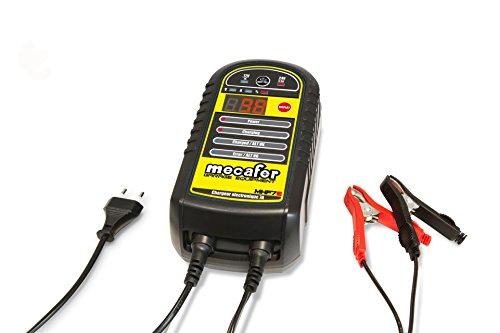 Mecafer Cargador electrónico de Batería 7 A