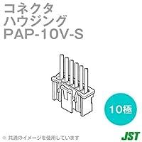 日本圧着端子(JST) PAP-10V-S ハウジング 10極 NN