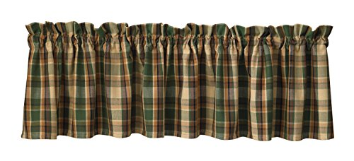 "Park Designs Scotch Pine Valance, 72 by 14"""