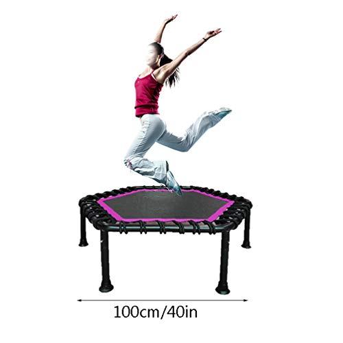 RY-tramp Fitness trampoline, elastisch aerobic springen volwassenen kinderen dunne buik afnemen 100 cm in diameter