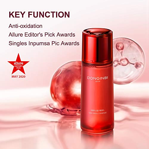 41dZpNzZfmL - DONGINBI 1899 Single Essence Water Facial Serum Anti-Aging Face Essence with 100% Red Ginseng Extract - Korean Anti-Oxidative Face Serum for Women & Men by Korea Ginseng Corp-2.02 Oz (70ml)