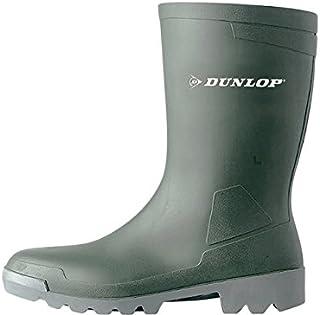Dunlop Hobby Calf Retail Boot W486711 Size - 11 Green