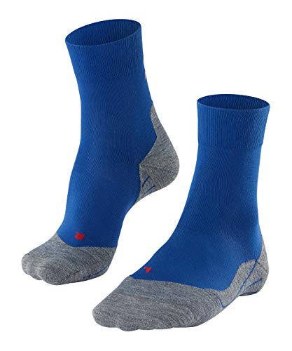 FALKE Herren Laufsocken RU4 M SO, 1er Pack, Blau (Athletic Blue 6451), 44-45