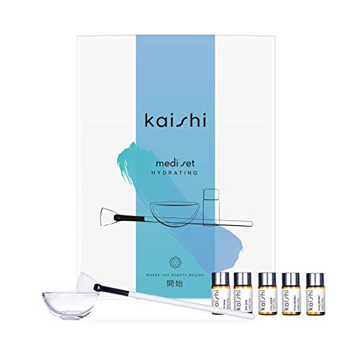 Kaishi - Ampollas hidratantes Mediset para nutrir la piel, 15 ml (5 unidades de 3 ml)