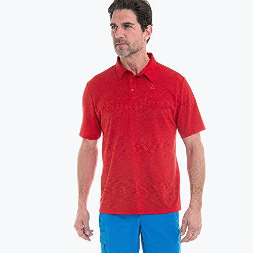 Schöffel Izmir1 Polo Homme Goje Berry FR: S (Taille Fabricant: 46)