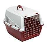 Guaranteed4Less Portable Pet Carrier Cat Puppy Travel Cage Dog Carry Basket Transporter Box (Red)