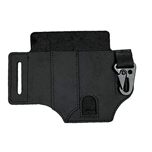 MultiLamperscheide Tasche EDC Taschen-Organizer Mantel-Halter-Abdeckung Gürteltasche Holster (Multi-Tool Nicht Enthalten) Black