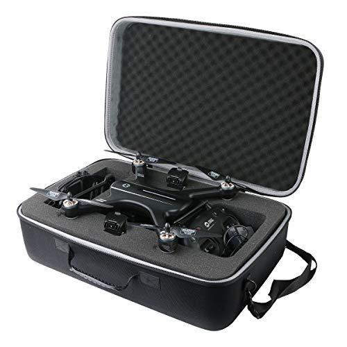 co2CREA Tasche für Holy Stone HS700 FPV Drohne Hülle Case Etui Tragetasche (Small)