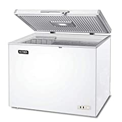 Warranty: 1 Year PARTS + LABOR / 5 Year Compressor for commercial use MWF-9010 Solid Top Chest Freezer