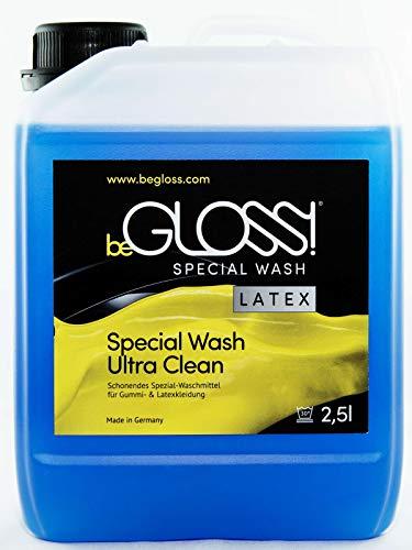 beGLOSS Special Wash 2500 ML - Latex Waschmittel Pflege Reiniger für Gummi & Latex Kleidung