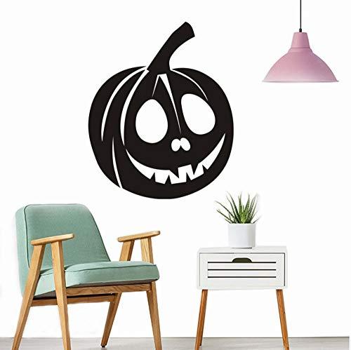 BHLTG Schlafzimmer Wandaufkleber Happy Halloween Hintergrund Papier Windows Home Decor Dekorieren Raumdekoration Kinderzimmer 44 cm * 36 cm