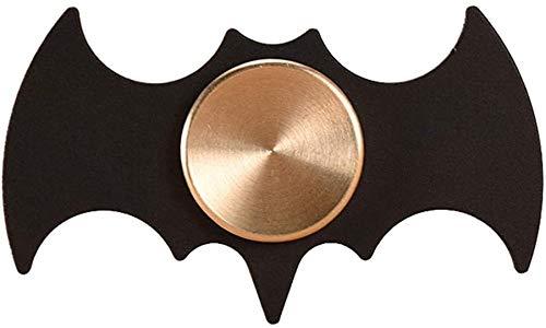 Khosd Giroscopio Batman Nero Fidget Spinner Spinner in Metallo Giocattoli di Equilibrio Batman Batman a Forma di Filatore Fidget Spinner Spinner per Alleviare Lo Stress