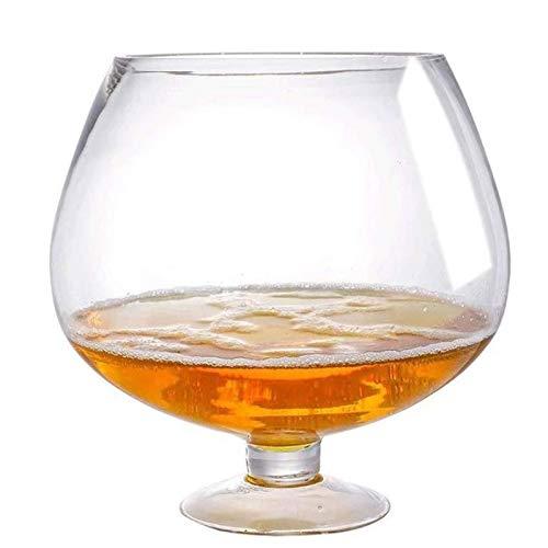 6000ml Creativo súper Grande Brandy Cristal Vino Tinto Copa de Copa KTV Bar Grande Capacidad Taza de Cerveza de la Cerveza de los vidrios de consumición de la decoración del hogar,6000ml